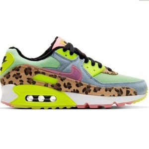 "Nike Air Max 90 LX ""Illusion Green/Sunset Pulse"
